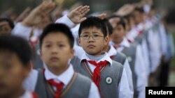 Sekolah-sekolah di Tiongkok meningkatkan keamanan menyusul serangkaian serangan maut terhadap murid-murid dalam beberapa tahun belakangan. (Foto: Dok)