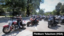 Thai bikers joined Rolling Thunder 2019