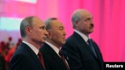 Путін, Назарбаєв і Лукашенко в Астані
