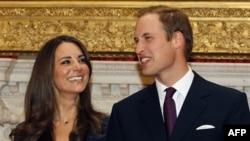 Hoàng gia Anh loan báo Hoàng Tử William sẽ kết hôn với cô Kate Middleton vào ngày 29 tháng Tư, 2011 tại nhà thờ Westminster