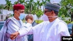 Buhari ya tarbi Bazoum a Abuja