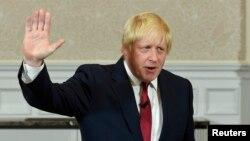 보리스 존슨 전 런던시장이 30일 기자회견을 열고 보수당 대표경선 불출마를 선언했다.