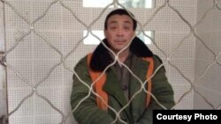 Zhang Shaojie Nanle in the County Detention Center, January, 2014 (Courtesy Liu Weiguo China Aid).