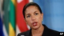 Đại sứ Hoa Kỳ tại Liên Hiệp Quốc Susan Rice, chủ tịch Hội đồng trong tháng này, nói nếu Bình Nhưỡng chọn thách thức cộng đồng quốc tế, thì Hội Đồng Bảo An sẽ có hành động thích hợp