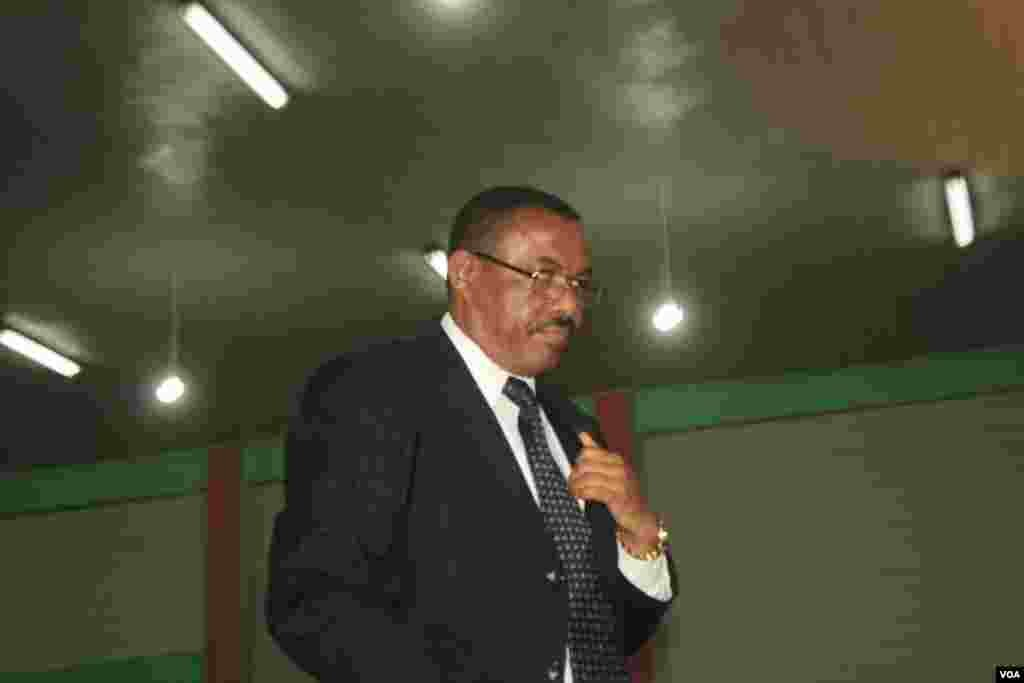 R/Wasaraha Ethiopia cusub ee Ethiopia oo ka hadlaya xafladda