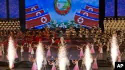 北韓2018年9月8日的建國70週年慶祝活動。