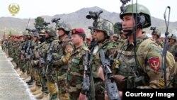 کوماندو های افغان ۸۰ در صد عملیات نظامی را در سراسر افغانستان انجام می دهند