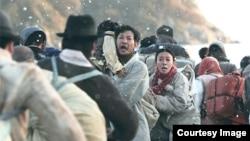 6.25 전쟁 당시 피난민들. 영화 '국제시장'의 한 장면. (자료사진)