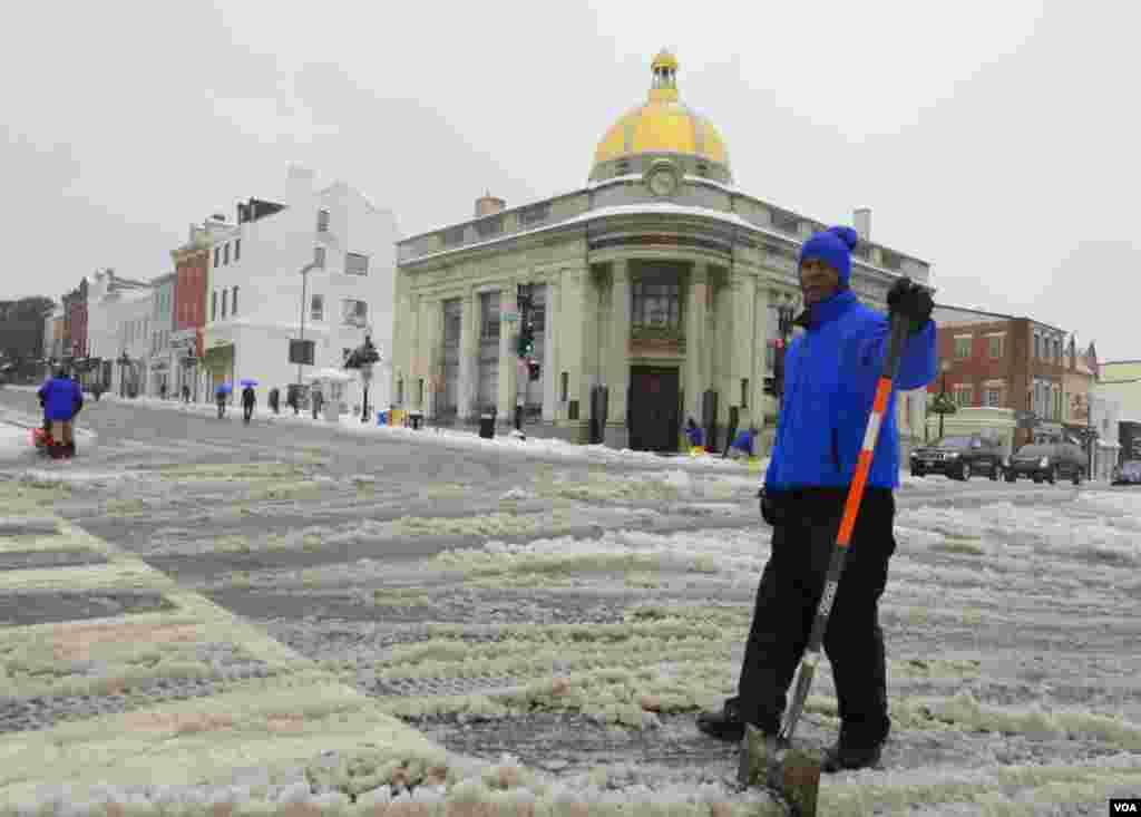 Вашингтон. Снегопад, снегопад…