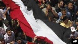 مصر: تحریر چوک میں ایک بڑا مظاہرہ