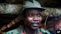 Joseph Kony is wanted for war crimes.