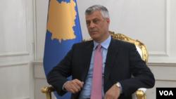 Predsednik Kosova Hašim Tači u razgovoru za albanski servis Glasa Amerike