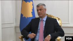 Hašim Tači, predsednik Kosova u intervjuu za albanski servis Glasa Amerike (arhivski snimak)