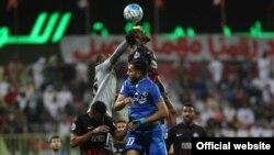 مسابقه استقلال تهران و الاهلی امارات - عکس: رضا سعیدیپور