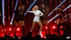 Zara Larson lors des Music Awards MTV EMA au Pays-Bas, le 6 novembre 2016.
