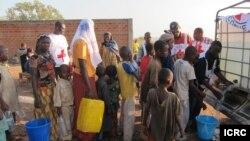 L'aide aux déplacés centrafricains