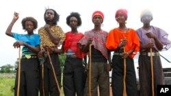 Fulani makiyaya daga Jiahr Neja.
