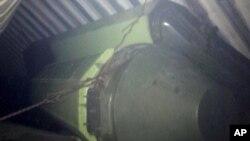 Ракетное оборудование, найденное в контейнерах с сахаром на борту судна под северокорейским флагом, шедшего из Кубы. 15 июля 2013г.
