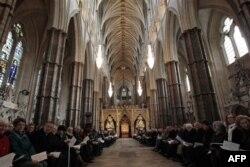 Nikahın yapılacağı Westminster Kilisesi