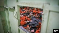 کرد فورسز کی جیل میں داعش سے تعلق رکھنے والے 5000 'جہادی' قید ہیں۔ (فائل فوٹو)