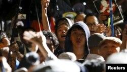 日本民眾反對安保法案