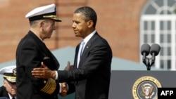Майк Маллен и Барак Обама