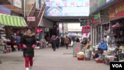 延吉街头遍布中韩两种文字的标志