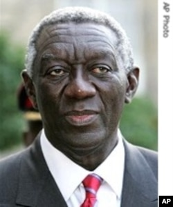 Four top officials of Ghana's Ex-President John Kufuor face graft charges