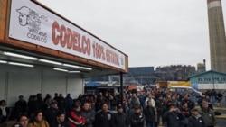 اعتصاب کارگران معدن مس شيلی