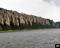 西伯利亚主要河流勒拿河