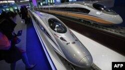 Ông Hà Hoa Vũ nói tuyến đường sắt cao tốc dài 1.300 kilomét này là niềm tự hào của Trung Quốc và nhân dân Trung Quốc