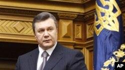 Ukrainian President Viktor Yanukovich (file photo)