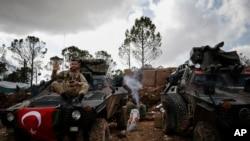 Turski vojnici u Afrinu