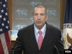国务院发言人马克托纳(美国之音视频截图)