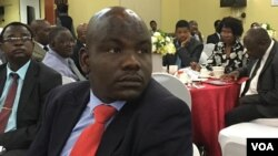 FILE: UMeya wako Bulawayo, uMnu. Solomon Mguni, usemhlanganweni webudget yomnyaka ozayo.