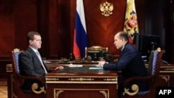 Дмитрий Медведев и Александр Бортников