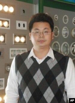 前台商照明聯誼會中國區總會長康文杰