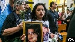 """Madres de víctimas en Nicaragua consideran la Ley de Amnistía """"una burla""""."""
