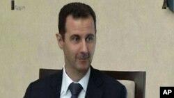 بشار اسد رئیس دولت حاکم بر سوریه