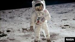 Высадка на Луну, 21 июля 1969
