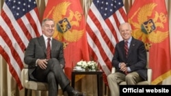 Susret potpredsednika SAD Džozefa Bajdena i crnogorskog premijera Mila Đukanovića (arhiv gov.me)