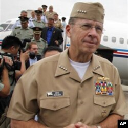 U.S. Adm. Mike Mullen, chairman of the Joint Chiefs of Staff (File)