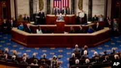 美國國會會議 (資料照片)
