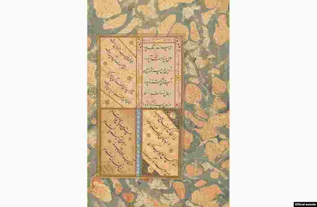 موزهدار گالری سکلر میگوید: «نستعلیــق به راستی تجسم بصری زبان پارسی است.»