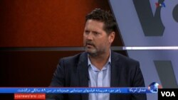 مایکل پریجنت، پژوهشگر ارشد مسائل خاورمیانه در موسسه هادسون روز سه شنبه ۲ خرداد در برنامه «ساعت خبر» صدای آمریکا