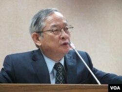 台湾执政党国民党立委林郁方(美国之音 张永泰拍摄)