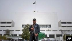 İslamabat'ta Meclis binası