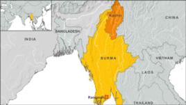Kachin region of Burma