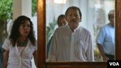 Rosario Murillo, esposa del presidente Ortega, dijo que el trazado marítimo que disputan con Colombia no afecta en nada los territorios de Costa Rica u Honduras.