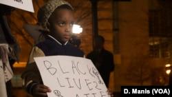 Washington DC foi palco de protestos por Ferguson